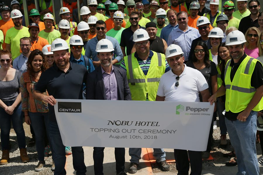8-10-18 Centaur-Nobu top off party at construction site of Nobu located at 854 W. Randolph Street in Chicago'